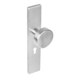 Knop schild profielcilindergat 55 mm