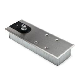 RVS vloerveer, geborsteld, max. opening 180°