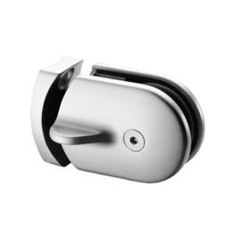 RVS schuifslot, voor buis-Ø 48,3 - 50,8 mm voor glasdikte 6 - 12,76 mm